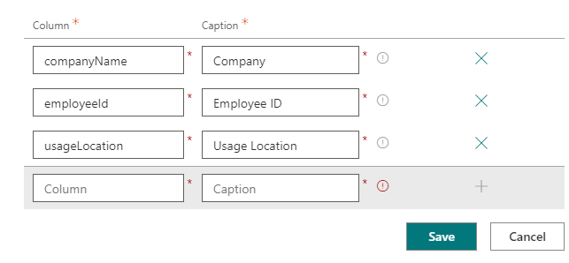 Adding Custom Attributes for Azure AD